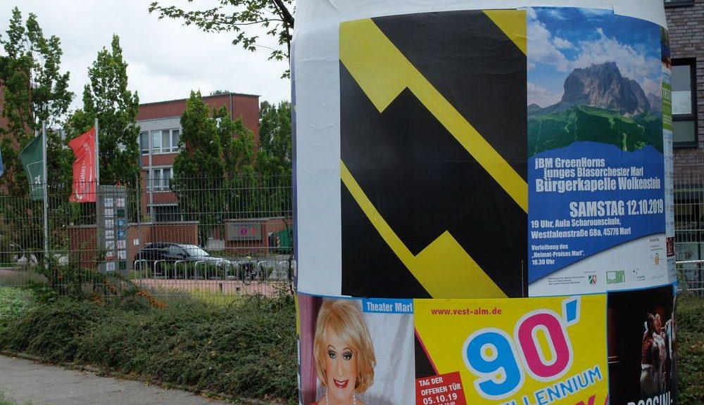Stadtbesetzung 2019, Marl, Betonerinnerungen, Sebastian Freytag, Foto Sebastian Freytag