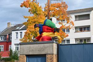 Stadtbesetzung 2019, Euskirchen, Bodies in Urban Spaces, Cie. Willi Dorner, Frank Sorgatz