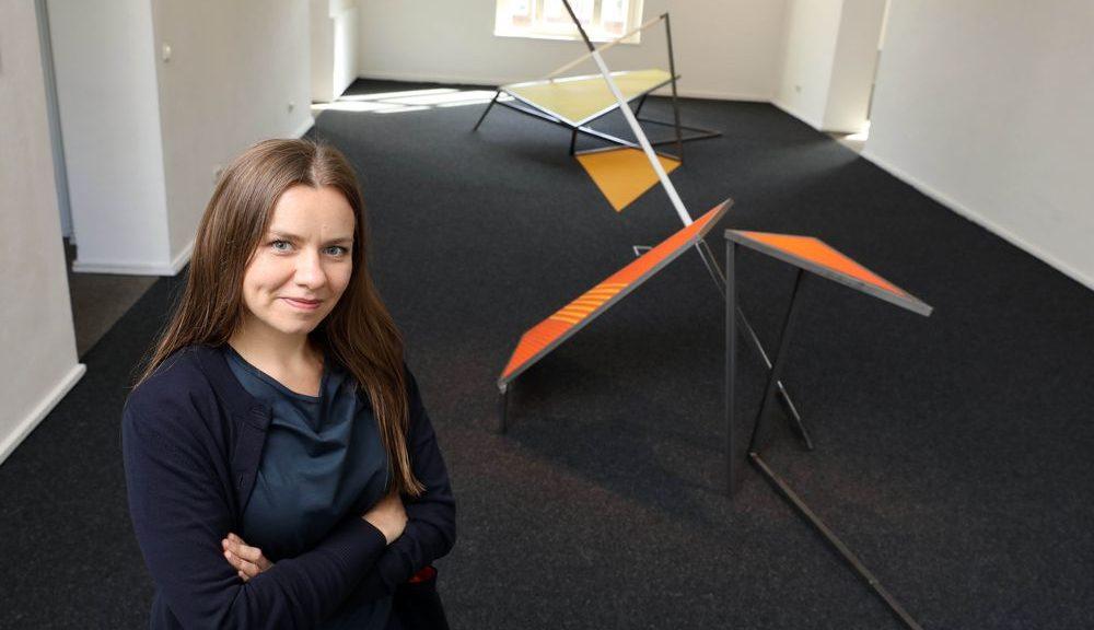 Stadtbesetzung 2019, Viersen, Skulpturenlabor, Künstlerin Justyna Janetzek. Foto Justyna Janetzek