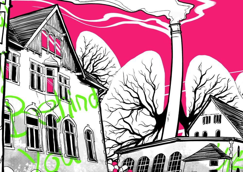 Versehrt, Stadtbesetzung Arnsberg, Plakat Simone Bannach